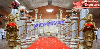 Reputable Wedding Walkway With Diaya ladies statue
