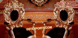 Royal Look Wedding Maharani Chairs