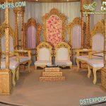 Royal Style Wedding Mandap Chair Set