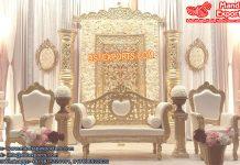 Splendid Wedding Reception Stage Decoration