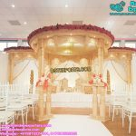 Stylish Wedding Double Pole Mandap