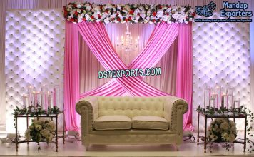 Top Western Wedding Leather Back-Walls