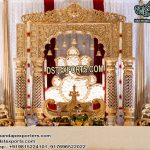 Traditional Hindu Marriage Stage Set