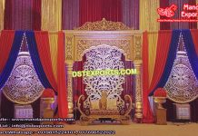 Traditional look Hindu Marriage Stage