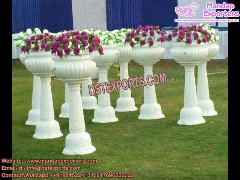 Wedding Entrance Flower pots