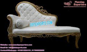 Western Look Wedding Love Seater