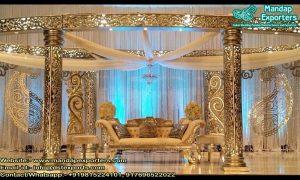 Classy Indian Wedding Oval Design Mandap