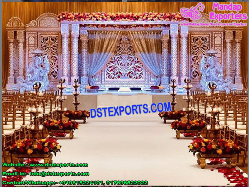 Indian Marvelous Marriage Fiber Mandap