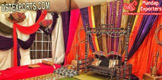 Antique Style Swing For Mehandi Stage