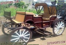 Antiqued Style Masterpiece Victorian Carriage