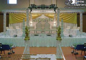 Attractive Wedding Crystal Diamond Mandap