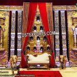 Beautiful Rajawada Wedding Golden Frames