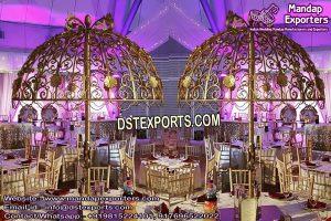Beautiful Wedding Table Decoration Umbrellas