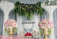 Best Engagement Ceremony Stage Decor