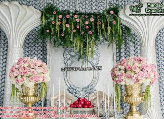 Best Engagement Ceremony Stage Decor