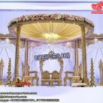 Classy Wedding Wooden Hand-Carved Mandap