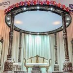 Elegant Wedding Wooden Ganesha Mandap