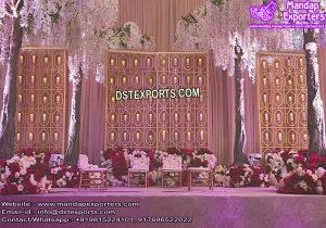 English Wedding Elegant Candle Walls