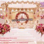 Exclusive Bollywood Wedding Wood Mandap