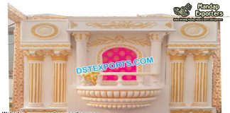 Exclusive Wedding Window Design Back-Frame