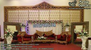 Fabulous Wedding Event Lether Panels Decor