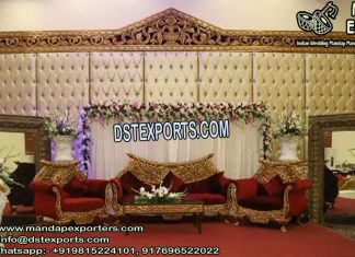 Fabulous Wedding Event Lether Panels Decor