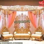 Grand Asian Wedding Stage Setup