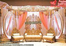 Grand Asian Wedding Stage Setup