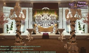 Grand Morrocan Theme Wedding Stage Decoration