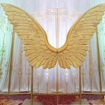 Grand Wedding Panel With Butterfly Design