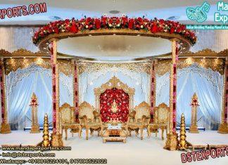Hindu Marriage Ceremony Wooden Mandap