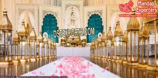Moroccan Lanterns For Wedding Entrance
