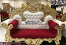 Muslim Maharaja Wedding Stage Sofa