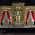 Nayab Walima Stage Jhrokha Frames