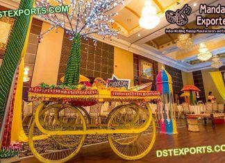 Punjabi Wedding Bangle Bar Stall