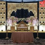 Royal Wedding Golden Jharokha Stage