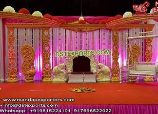 Srilankan Wedding Open Style Mandap/Stage