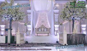 Stunning Indo-Canadian Wedding Stage