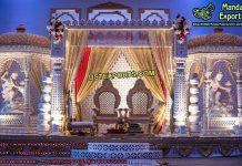 Traditional Indian Wedding Radha Krishan Mandap