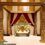 Traditional Rajwada Wedding Mandap Set