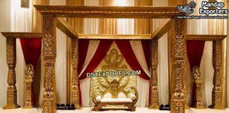 Traditional Rajwada Wedding Mandap Set