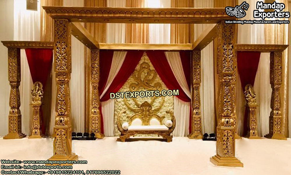 Top Bollywood Look Marriage Mandap