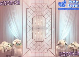 Trending Wedding Event Candle Back-Walls