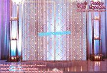 Trendy Wedding Decor Candle Back-Wall