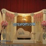 Wedding Engagement Ceremony Stage Decor