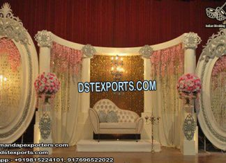 Wedding Engagement Ceremony Stage Decor