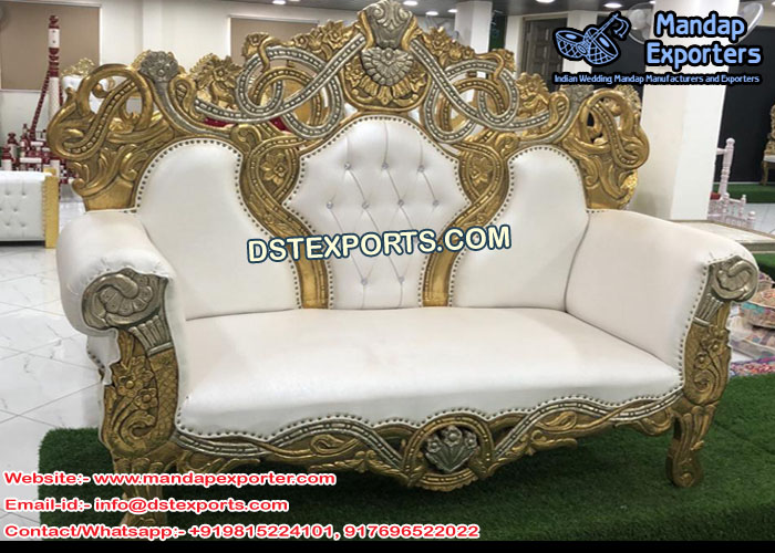 Indian Wedding Diamond Sofa