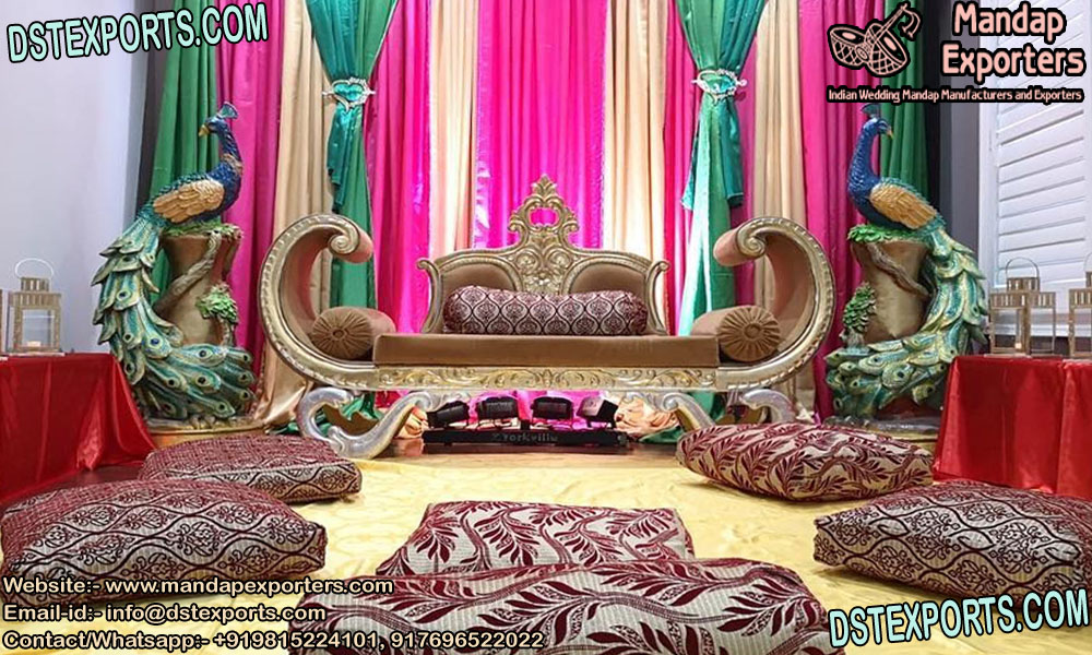 Wedding Stage Royal Design Two-Seater