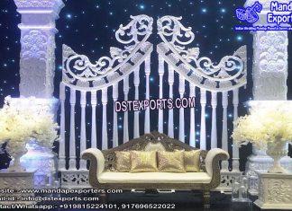 Western Wedding Backstage Frame Decor
