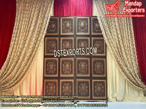 Antique Wedding Stage Door Frame